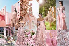 Peachy_Peach Bridesmaid Dresses, Wedding Dresses, Mermaid, Peach, Formal Dresses, Pink, Fashion, Bridesmade Dresses, Bride Dresses