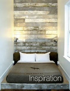 very small bedroom..looks very cozy