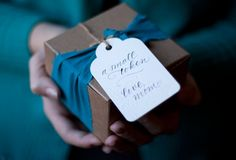 Love the colour and the {maybe} recycled ribbon