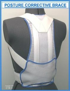 """Prolineonline Posture Corrective Support Brace Size = X.Large by Prolineonline. $49.60. For Situations Where """"Slouching"""" Occurs Maybe After A Recent Injury Or From The Work Place Where The Lower Back Muscles Have Relaxed Thus Causing The Shoulders To Droop Forward When Sitting In An Incorrect Manner.. The Posture Brace Is Designed To Provide Comfort And Aid Posture Control Without Discomfort.. Designed To Provide Good Posture Control By Gently Pulling The Shoulders Back To St..."""