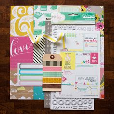 Big Dreams Kit: Project Life Edition. Paper {not digital} products from Echo Park, Studio Calico, Crate Paper, Dear Lizzy, and October Afternoon at Simple Scrapper.