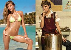 WATCH: Nina Agdal strips down... and gets FUGLY!