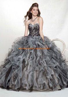 Luxuriöses und designes Abendkleid für Prinzessin aus Organza online 2013