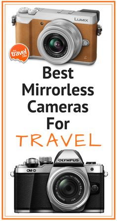 Best Mirrorless Cameras For Travel ~ http://thetravelbite.commost have all the manual controls and optional lenses of a DSLR, but with the lightweight portability of a point-and-shoot. Professional quality photos from a compact camera that can practically fit in your pocket?  That factor alone had me instantly sold!  Most mirrorless cameras also now have built-in wifi capabilities and really impressive video recording options too.