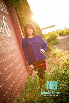 Lovely lighting, senior pictures