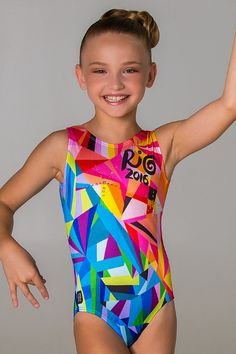 Rio Leotard with Swarovski Crystals