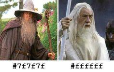 Gandalf en hexadecimal.