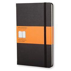 Moleskine Ruled Notebook (13 x 21cm) Moleskine http://www.amazon.co.uk/dp/8883701127/ref=cm_sw_r_pi_dp_pDycwb0GVYS63