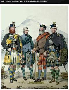 MacLachlan, Graham, MacFarlane, MacLeay