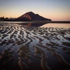 """""""Dramatic low tide in #SanFelipe. The tides get really low, Great for finding…"""
