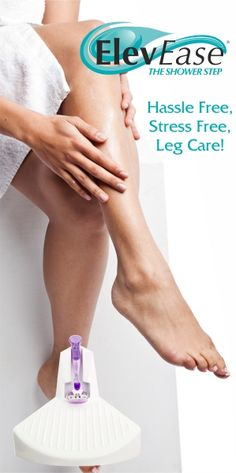 Elevease: The Shower Step for Shaving Legs and more - Care - Skin care , beauty ideas and skin care tips Shower Step, Foot Peel, Avocado Face Mask, Pedicure Set, Sensitive Skin Care, Foot Care, Face Wash, Anti Aging Skin Care, Patience