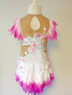 Rhythmic Gymnastics Competition Leotard SOLD от Savalia на Etsy