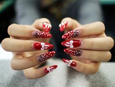 65 Cute Christmas Nails | Cuded