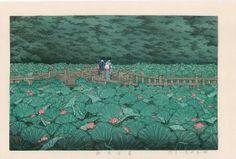 Hasui Kawase: Shiba Benten Pond, 1929