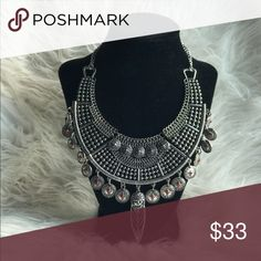 Bohemian w/ Coins Statement Necklace This necklace is brand new and has never been worn. Jewelry Necklaces