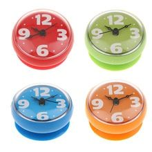 Buy Atomic Bathroom Shower Silicone Clock Time Watch With Suction Cup Wall Clock Sticker Bathroom Wall Clocks, Wall Clock Brands, Wall Clock Sticker, Bright Colors, Shower, Stickers, Modern, Ebay, Zara