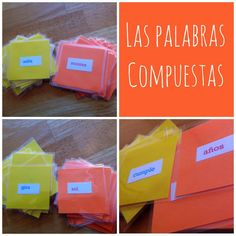 Teaching Compound Words {Games}