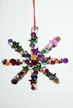 Star Craft - could do for 'Ss' craft (sparkly stars) or Christmas!x