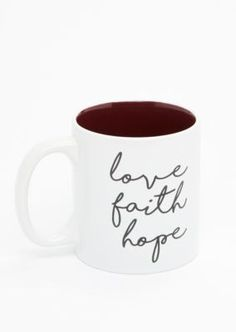 Love Faith Hope Mug | rue21