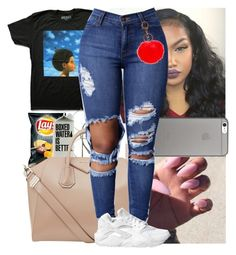 """""""✨"""" by msixo ❤ liked on Polyvore featuring Native Union, Givenchy, IMoshion and NIKE"""