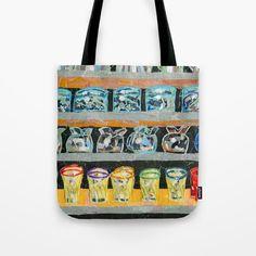 Shop Window Tote Bag by Shihotana