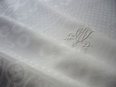Antique Tablecloth and Napkin Sets