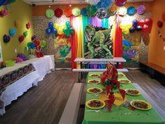 JUMP2IT Kelowna:  DINOSAUR themed birthday party