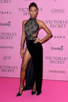 All the best dressed from last night's Victoria's Secret Fashion Show afterparties: Jasmine Tookes
