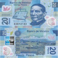 Portrait de Benito Juárez (1806-1872), un homme politique mexicain qui fut président de la République. Money Worksheets, Money Notes, Valuable Coins, Old Coins, Rare Coins, Travel Money, Reference Book, Stamp Collecting, Brazil