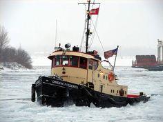 """Owen M. Offshore Boats, Boat Drawing, Fishing Vessel, Boat Art, Tug Boats, Wooden Boats, Tall Ships, Model Ships, Great Lakes"
