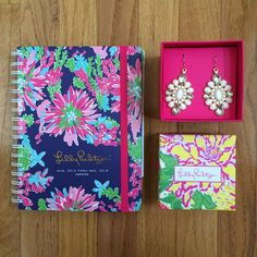 In love with this Lilly agenda!♡