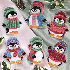 these are so cute!  T58219 - Cross Stitch, Needlepoint, Stitchery, and Embroidery Kits, Projects, and Needlecraft Tools | Stitchery