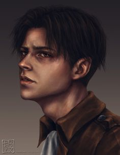 Levi Ackerman, well I definitely know who they were looking at as a reference to draw this, Jared Padaleki!^~^