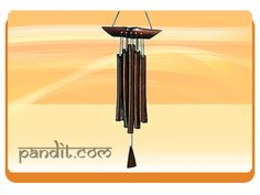 """ Wind Chimes "" by Acharya Rahul Kaushal -------------------------------------------------------- Windchimes are excellent source of enhancing good luck in the house. The number of rods and the material used to make windchimes is important. The windchimes placing is an important issue because it cannot be hanged anywhere in the house. http://www.pandit.com/wind-chimes/"