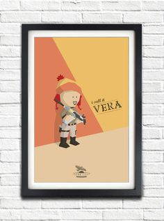 Vera :) Firefly - Serenity - Jayne Cobb - Adam Baldwin - 17x11 Poster. $19.99, via Etsy.