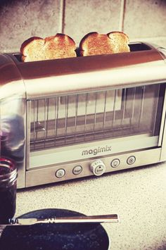 The coolest toaster around - the Magimix Vision Toaster! Giveaway on Dine & Dish.