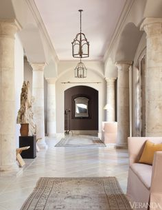 Well-Lived: Palm Springs Home. Interior Design by John Saladino.