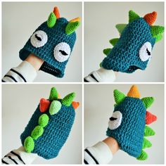 1000+ ideas about Crochet Dinosaur Hat on Pinterest Crochet Patterns ...
