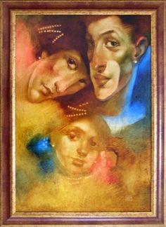 Výsledek obrázku pro sergej kulina Painting, Art, Art Background, Painting Art, Kunst, Paintings, Performing Arts, Painted Canvas, Drawings