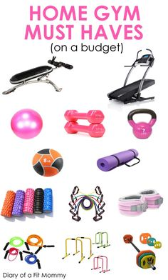 Home Gym Must-Haves - The home gym can be a blessing for a busy mom. There are no closing hours, no waiting to use the equipment and no need for a sitter to watch your kids. Unfortunately, it can often be confusing to know what items you really need in your home gym. That's why we've rounded up a list of amazing must-haves to add to your home gym today!