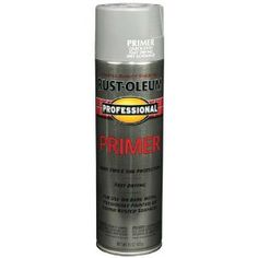How to spray paint metal- best product to spray paint metal- rustoleum professional primer