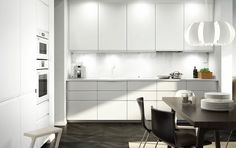Ikea kitchen gallery white kitchen images furniture design for bedroom ikea small kitchen gallery White Kitchen Appliances, Kitchen Design, Kitchen Inspirations, Kitchen Flooring, Ikea Small Kitchen, Modern Kitchen, Kitchen Interior, Simple Kitchen, Ikea Small Kitchen Table