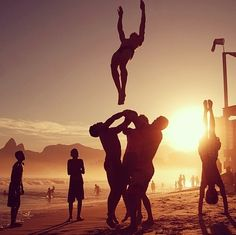 beach stunting-always wanted to do this