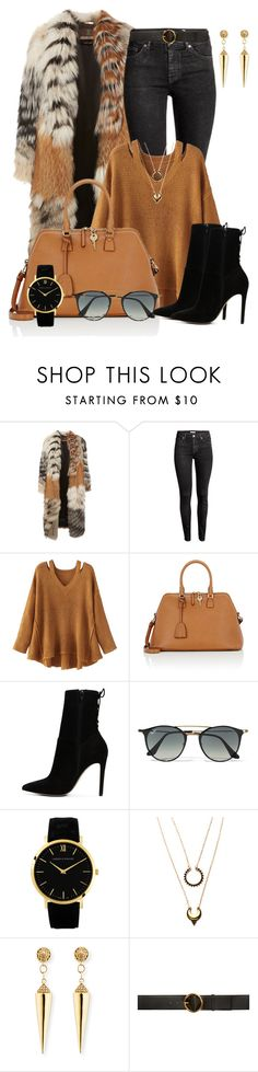 """Untitled #1066"" by deb105 ❤ liked on Polyvore featuring Roberto Cavalli, H&M, WithChic, Maison Margiela, ALDO, Ray-Ban, Sydney Evan and STELLA McCARTNEY"