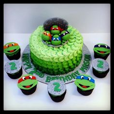 Ninja Turtle Birthday Party Sweets