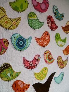 DQS10 quilt received from Karen (crazyfun01) ... isn't that quilting just FABULOUS?! :D