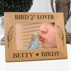 Bird Lover Picture Frame