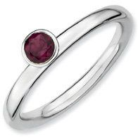 0.36ct Silver Stackable Round Rhod. Garnet Ring Band. Sizes 5-10 Available Jewelry Pot. $23.99. Fabulous Promotions and Discounts!. Your item will be shipped the same or next weekday!. 100% Satisfaction Guarantee. Questions? Call 866-923-4446. All Genuine Diamonds, Gemstones, Materials, and Precious Metals. 30 Day Money Back Guarantee. Save 65%!