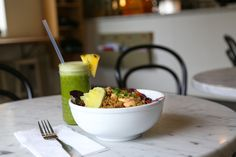 Portland City Guide: Canteen +  Raw Vegan Summer Breeze Juice // inmybowl.com