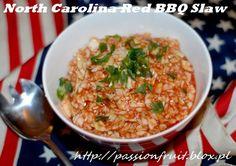 North Carolina Red BBQ Slaw. Czerwona surówka BBQ z kapusty